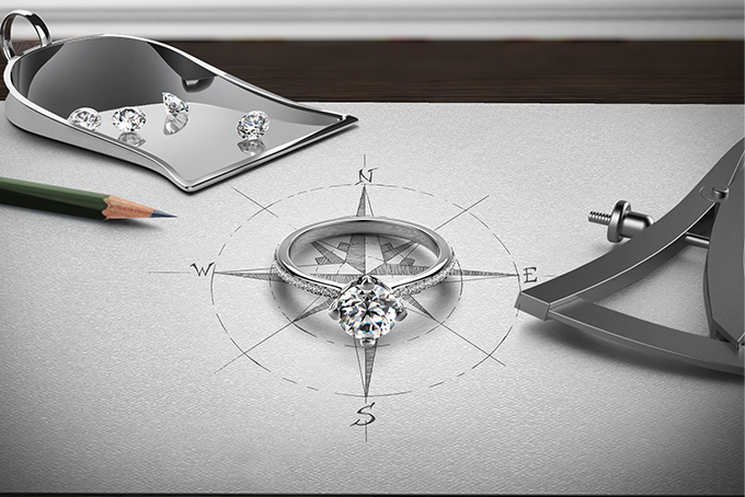 The Forevermark Setting® Diamond Jewellery Collection