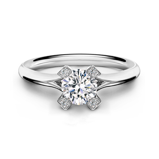 Cornerstones™ Plain Solitaire Ring