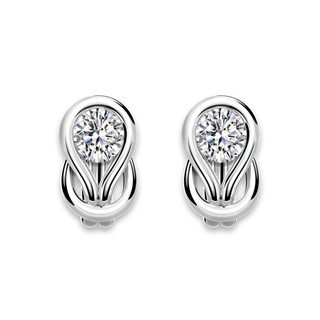 Encordia® Solitaire Stud Earrings