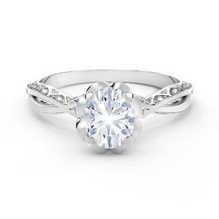 Endlea® Black Label Solitaire Oval Ring