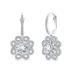 Endlea™ Pavé Drop Earrings
