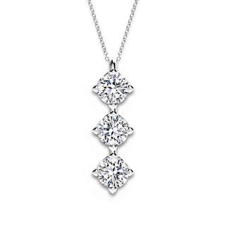 Forevermark Setting® Three Diamonds Pendant