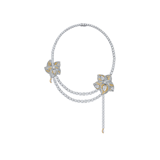 Forevermark Artemis™ collection RC Leaf Collier Yellow
