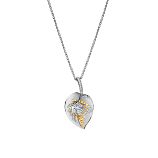 Forevermark Artemis™ collection Semi Pave Pendant