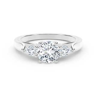 The Forevermark Bridal Classic side stones Ring