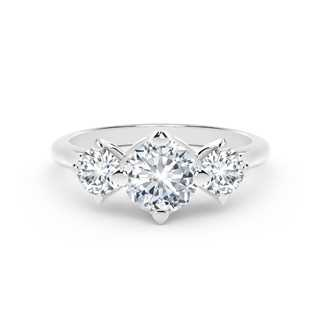 The Forevermark Setting™ Collection Three stones Ring