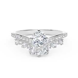 The Forevermark Signature  Setting™ Collection Tiara Ring