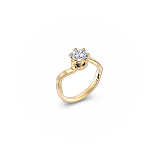 Solitaire 6 Prongs Ring