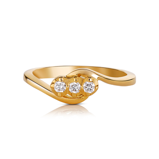 The Forevermark Traditional Setting 22 KT Ring